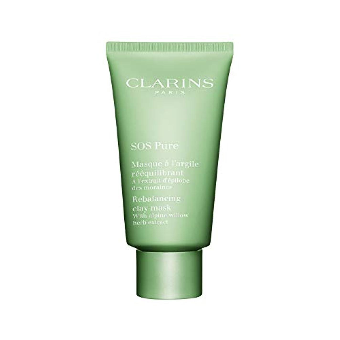 ネイティブ恩恵スタジオクラランス SOS Pure Rebalancing Clay Mask - Combination to Oily Skin 75ml/2.3oz並行輸入品