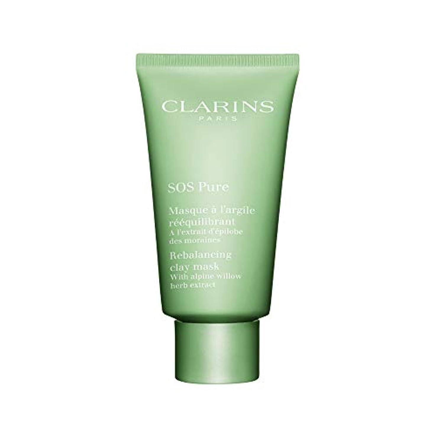 応じるスーパーマーケット特性クラランス SOS Pure Rebalancing Clay Mask - Combination to Oily Skin 75ml/2.3oz並行輸入品