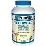 スーパーオメガ3 240ソフトジェル EPA + DHA + セサミン + オリーブ配合