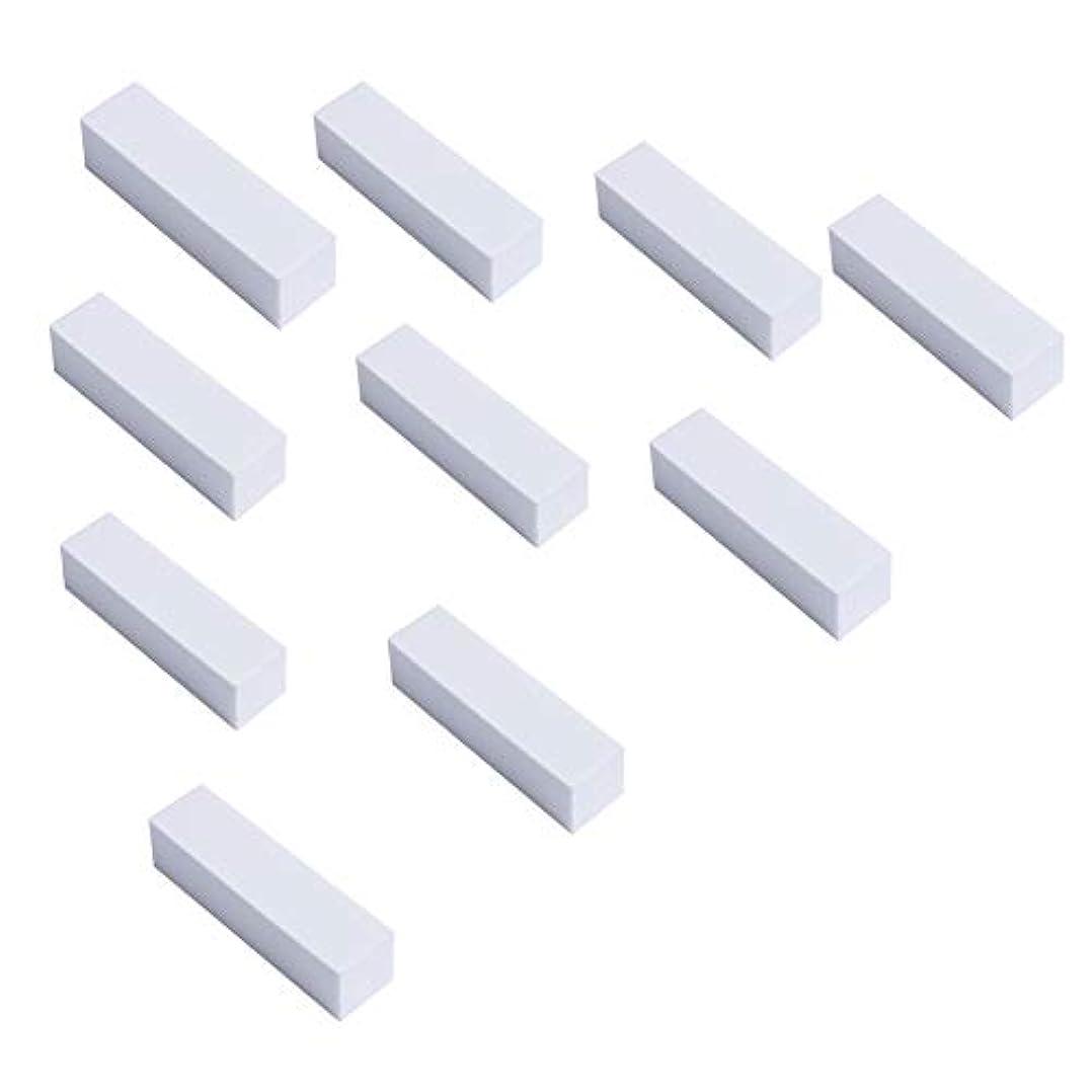 信条建てる札入れ爪やすり TOMIWANG 10本 ネイルケア やすり スポンジネイルファイル ジェルネイル用ファイル 4面ブロックバッファー爪ヤスリ ネイルケアセッ.