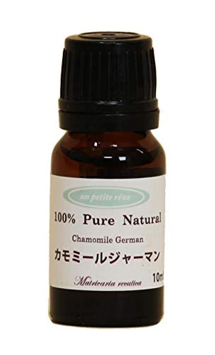 嫌な傾く細分化するカモミールジャーマン 10ml 100%天然アロマエッセンシャルオイル(精油)