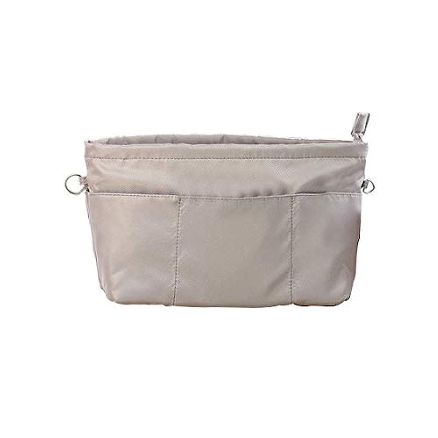 全能場所デイジーSurui バッグインバッグ インナーバッグ 収納ホルダー バッグ イン バッグ レディース 収納ポーチ 多機能 ホルダー 化粧ポーチ ハンドバッグ 女性 おしゃれ 収納 化粧品バッグ 化粧ホルダー 大容量