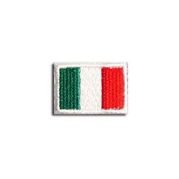 イタリア 国旗 アイロン ワッペン (プチ 約25mmx18mm)