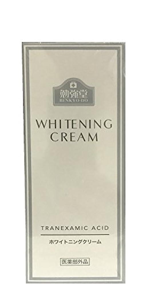 出演者血まみれの必要条件勉強堂 ホワイトニングクリーム 32g 医薬部外品