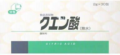 クエン酸(無水) 2g×30包