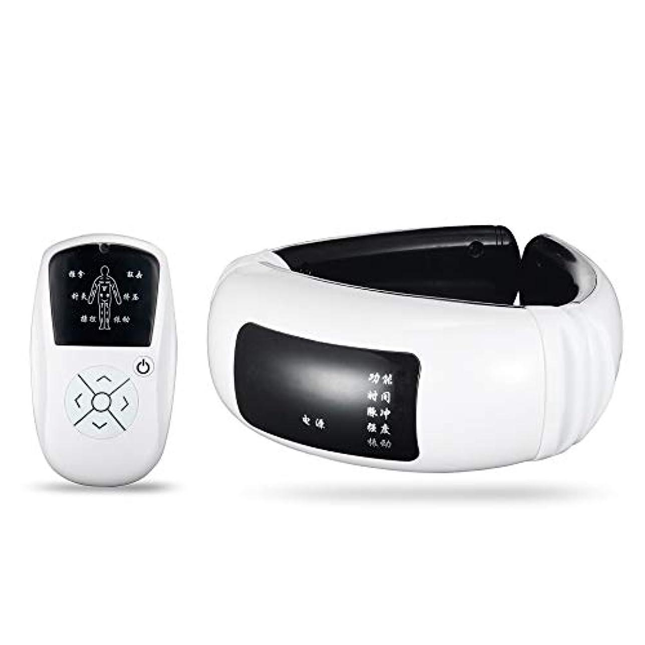 連続した新年製油所Wireless Massager, Electric Pulse Cervical Massager, For Neck Body Shoulder Relax Massage, Muscle Pain Relief,...