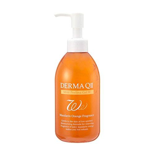 デルマQ2デルマキュー2マイルドピーリングゲルWタイプマンダリンオレンジの香り250g