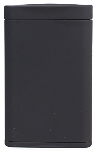 Dreams(ドリームズ) 携帯灰皿 ポケットアッシュトレイ スリム ハニカム 4本収納 ブラック MDL45284