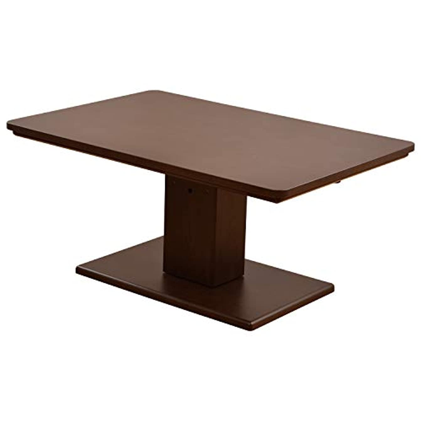 明らかにする多くの危険がある状況システム山善(YAMAZEN) 昇降式こたつテーブル (120×80cm 長方形) こたつ ダイニングこたつ JLTK-HD1280