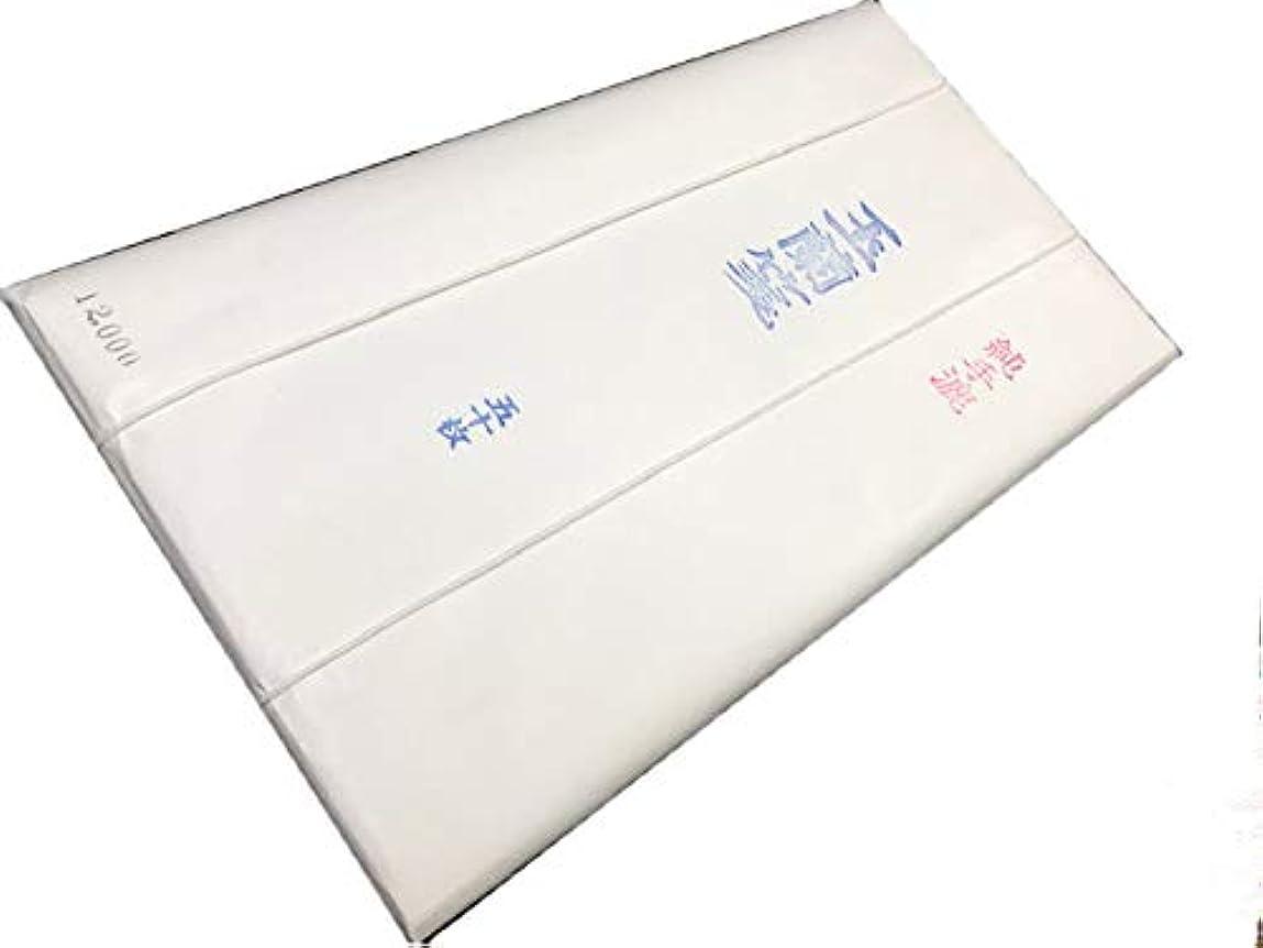 子孫怒っている聞く2×8(1.75×7.5)玉蘭箋12000 「50枚」 書道用紙 天義堂