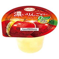 たらみ 濃いゼロカロリー 濃いりんごゼリー0kcal 195g×24(6×4)個入×(2ケース)