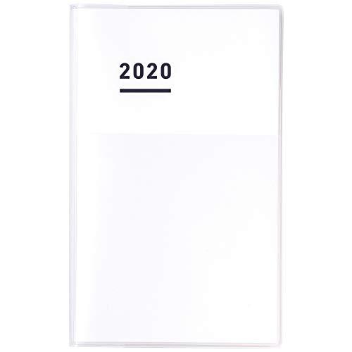 コクヨ ジブン手帳 DIARY 手帳 2020年 A5 スリム マンスリー&ウィークリー ホワイト ニ-JCD1W-20 2019年 11月始まり