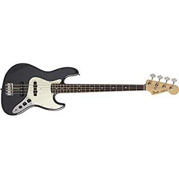 Fender エレキベース MIJ Hybrid 60s Jazz Bass, Charcoal Frost Metallic