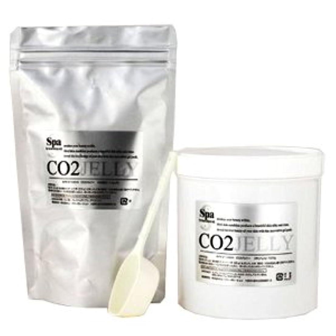 マーカー統計的楽しませるスパトリートメント CO2ジェリーN 40回分 業務用 炭酸パック