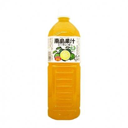 南島果汁 シークヮーサー 1L ×6本