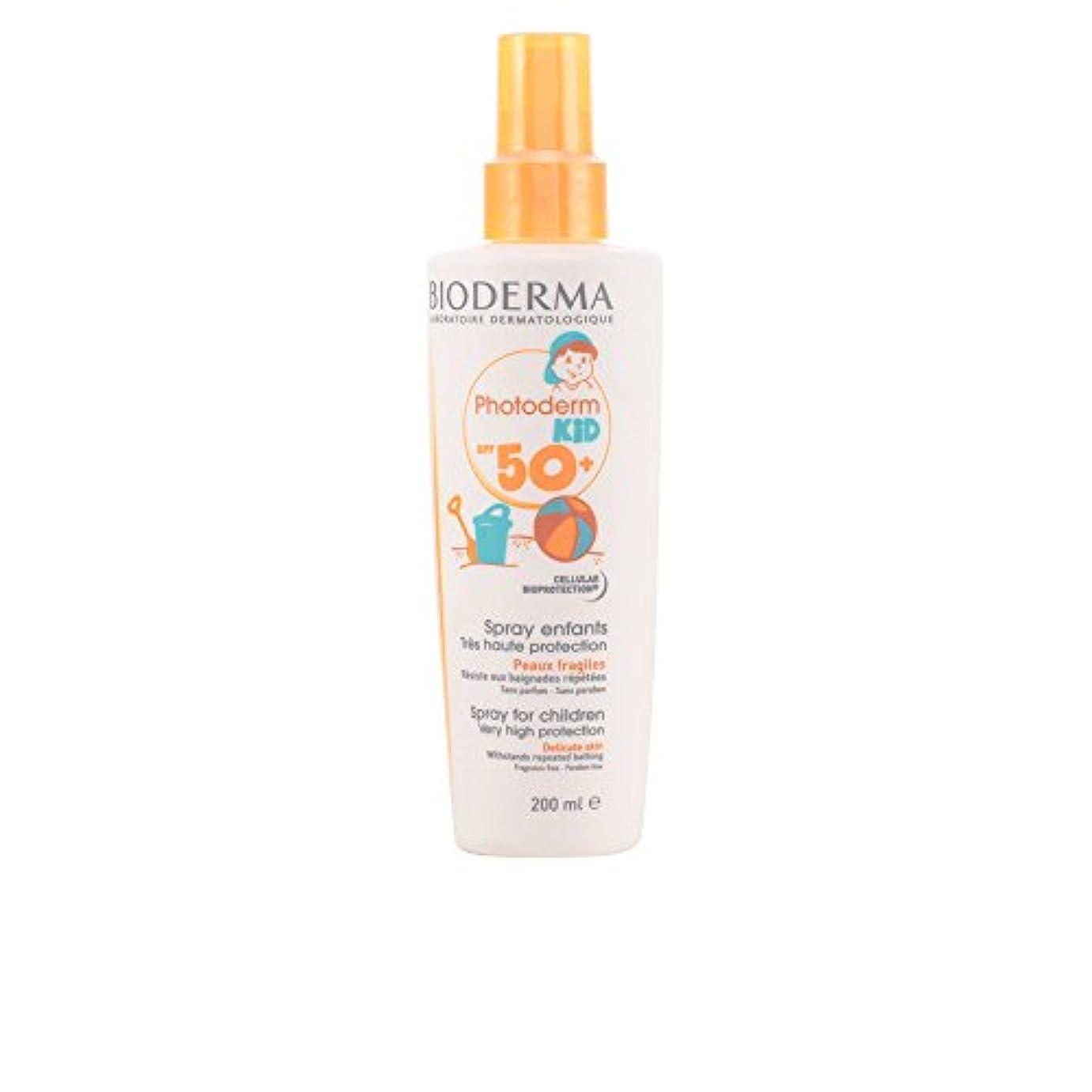 タオルモールを除くBioderma Photoderm Kid Spf 50+ Spray 200ml