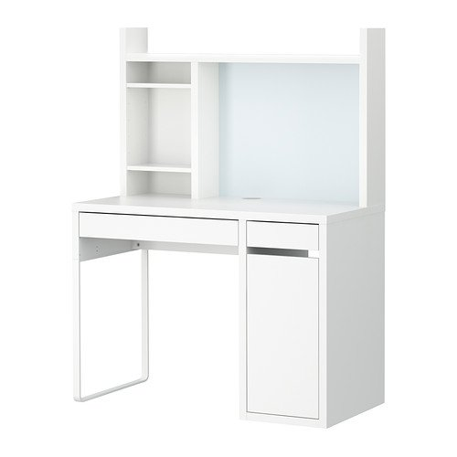 RoomClip商品情報 - IKEA(イケア) MICKE ホワイト 79903015 ワークステーション、ホワイト