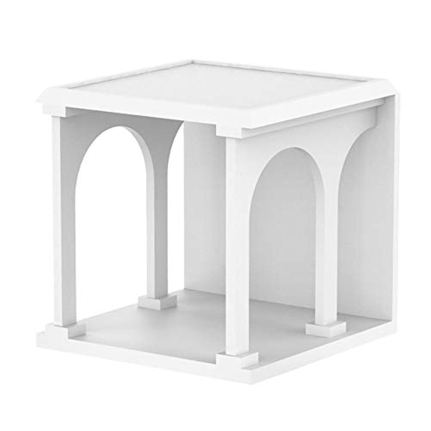 物質談話推測するHUO 古城サイドテーブル/オリジナル多機能ベッドサイドテーブル/北欧シンプルコーヒーテーブル-45 * 45 cm