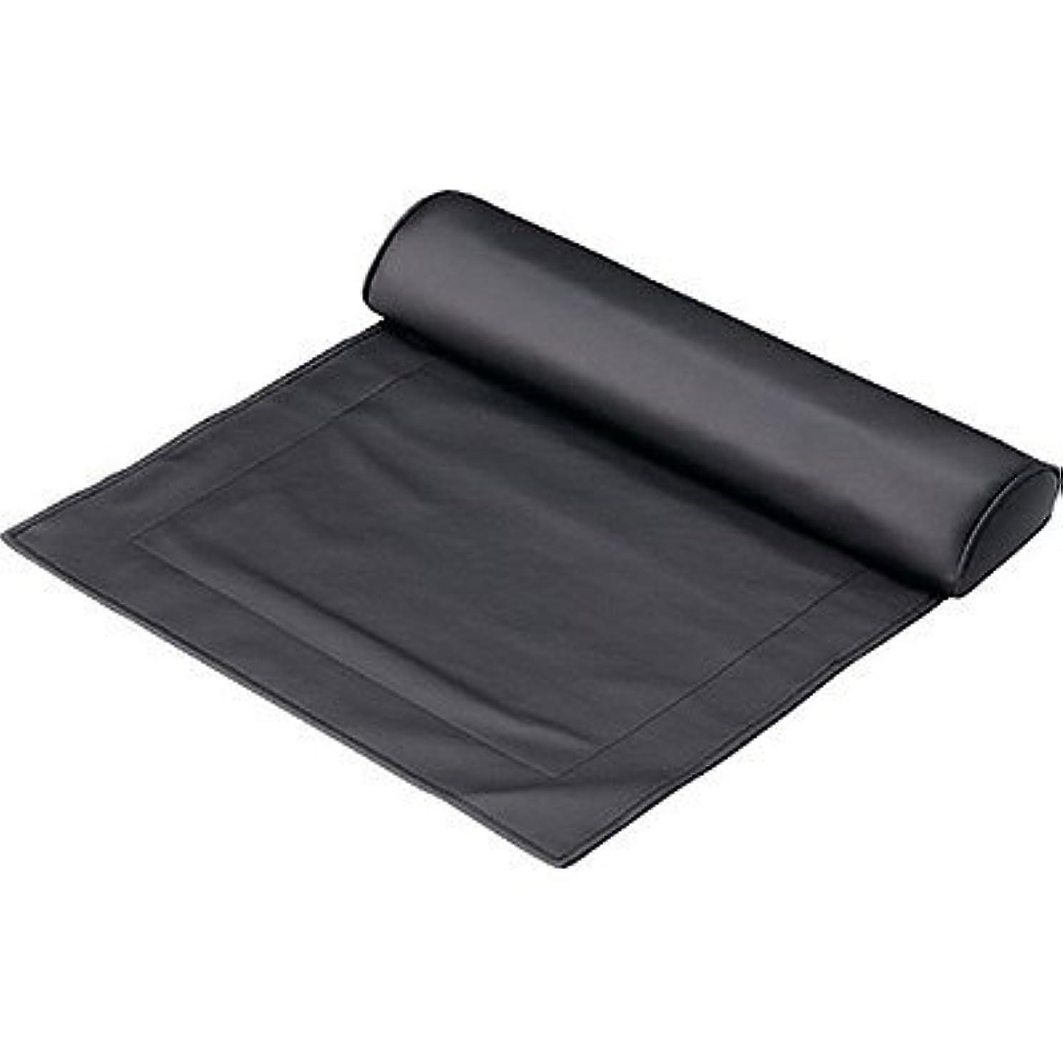 環境に優しいパンチ空のマット&ピローセット ブラック