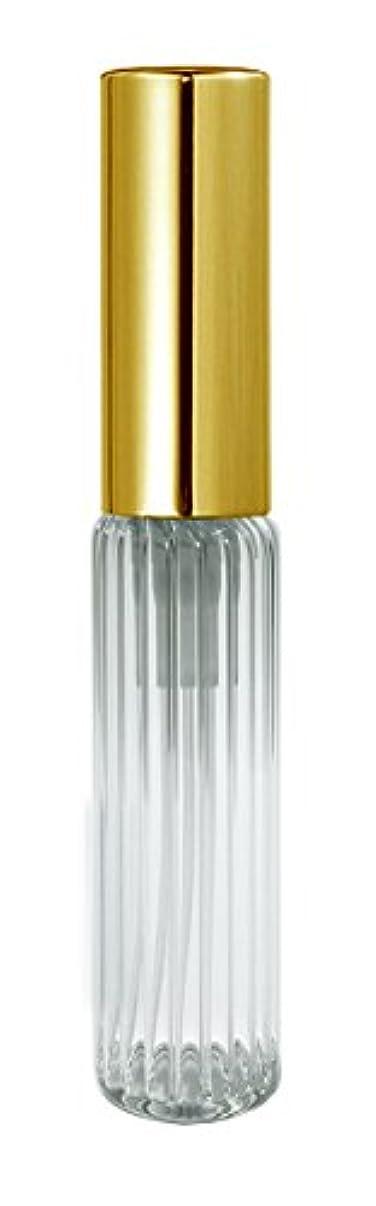紳士バタフライ骨60501 グラスアトマイザー ストライプ ゴールドキャップ