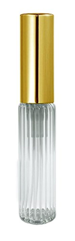 征服深く花婿60501 グラスアトマイザー ストライプ ゴールドキャップ
