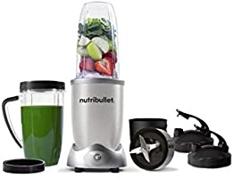 NutriBullet 1200W Series Blender 10 Piece Set, Silver