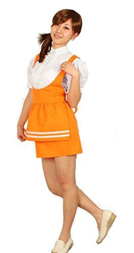 MilicaBooks アンナミラーズ アンミラ 制服 オレンジ Mサイズ ウエイトレス ファミレス コスプレ 衣装