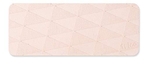 trico 珪藻土 ディスペンサートレイ 20cm × 8cm ピンク CTZ-14-03