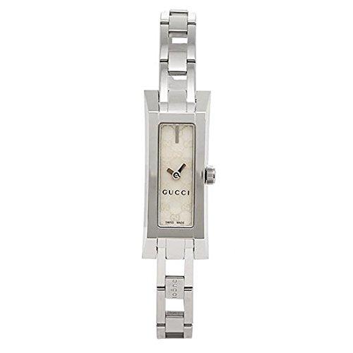 (グッチ) GUCCI 時計 レディース YA110525 G LINK 腕時計 ホワイト/シルバー[並行輸入品]