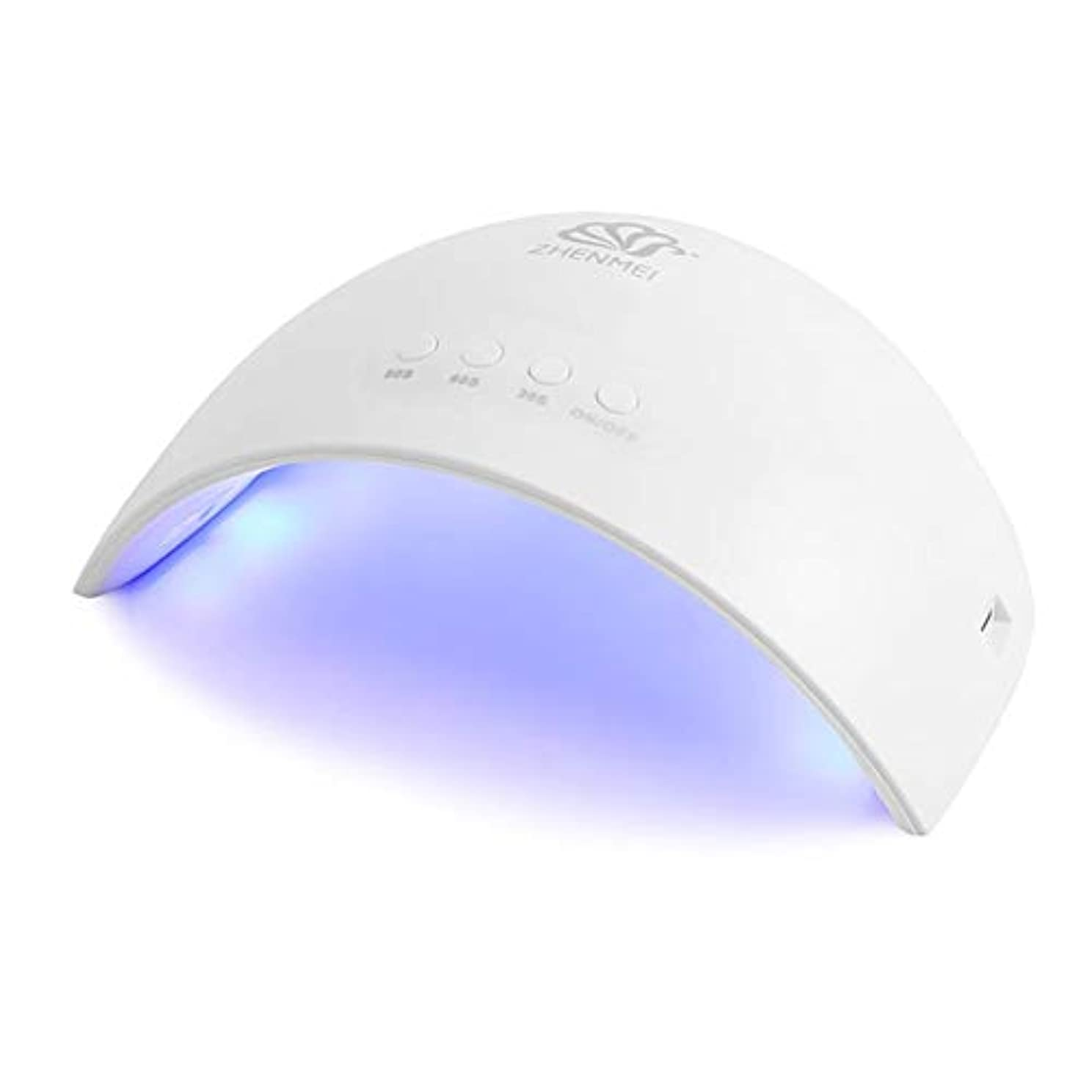 活気づけるビリーヤギ匹敵しますCheiss UVライト LEDネイルドライヤー ジェルネイルLEDライト 硬化ライト タイマーマニキュア乾燥ツール 爪&足首用 設定可能 折りたたみ 人感センサー式