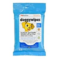 Petkins Doggy Wipes - 15 ct by Petkin