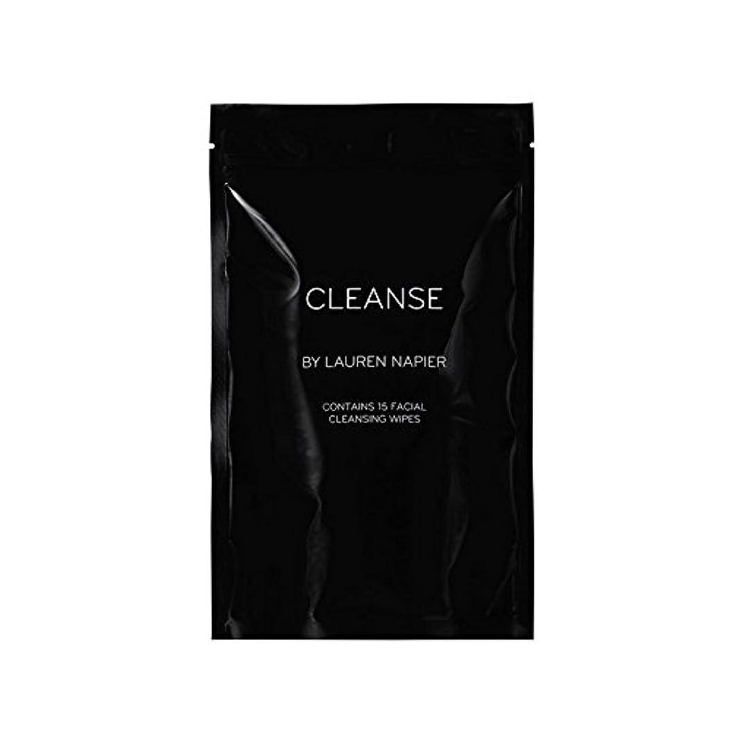 橋羽ブラウズローレン?ネーピアバッグ、15カウントのメイクアップリムーバーワイプ x4 - Lauren Napier Hightail Bag, 15 Count Makeup Remover Wipes (Pack of 4)...