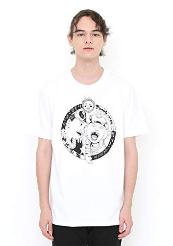 (グラニフ) graniph コラボレーション Tシャツ 鉄コン筋クリートシロ (松本大洋) (ホワイト) メンズ レディース SS
