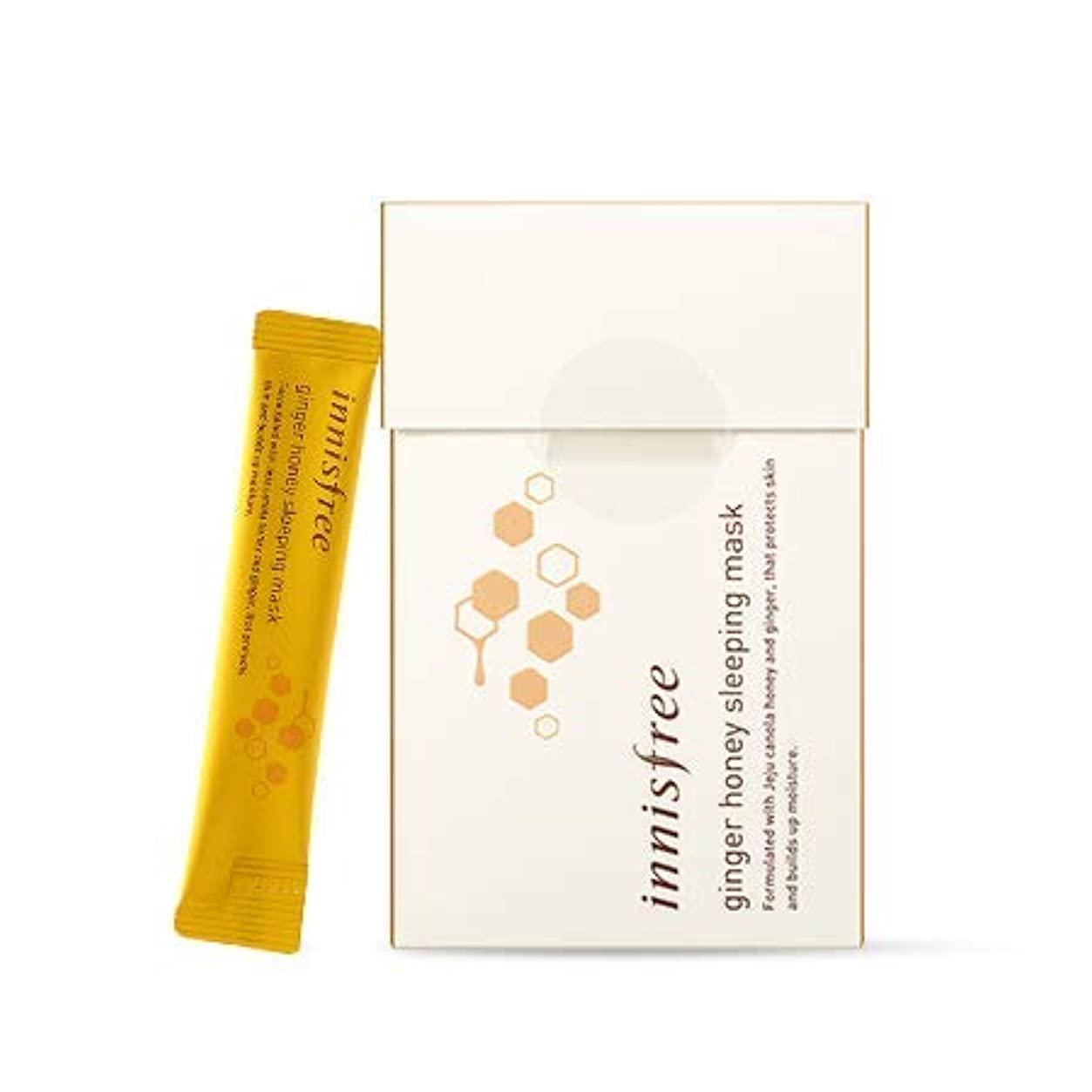 innisfree (イニスフリー) イニスフリージンジャーハニースリーピングマスク4mLx15EA / innisfree Ginger Honey Sleeping Mask 4mLx15EA [並行輸入品]