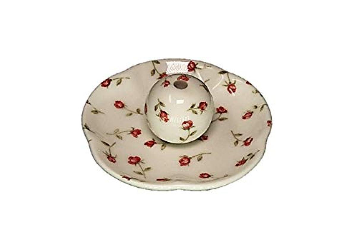 カレンダーエミュレーションコーナーローズガーデン 花形香皿 お香立て お香たて 日本製 ACSWEBSHOPオリジナル
