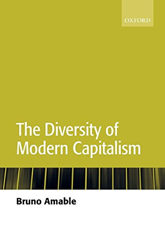 Download The Diversity Of Modern Capitalism 0199261148