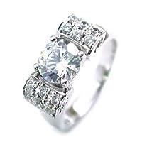 【SUEHIRO】 (婚約指輪) ダイヤモンド プラチナエンゲージリング(Brand Jewelry アニーベル) #8
