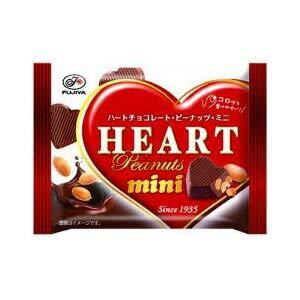不二家 ハートチョコピーナッツミニMP 42g×10入