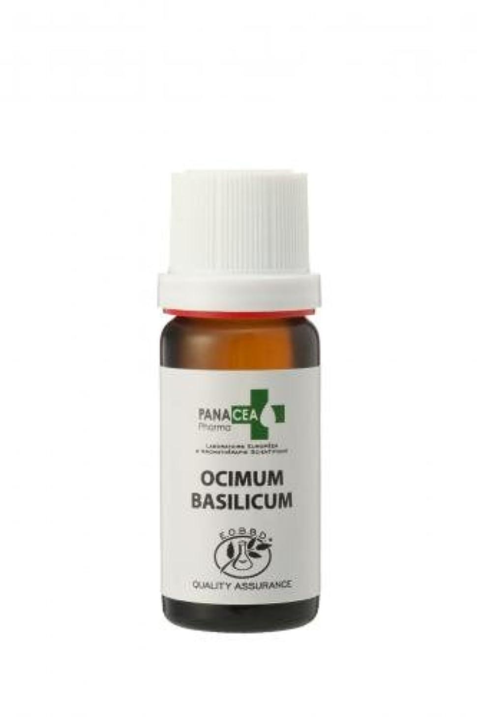 十分です植木復活するバジル メチルカビコール (Ocimum basilicum) 10ml エッセンシャルオイル PANACEA PHARMA パナセア ファルマ