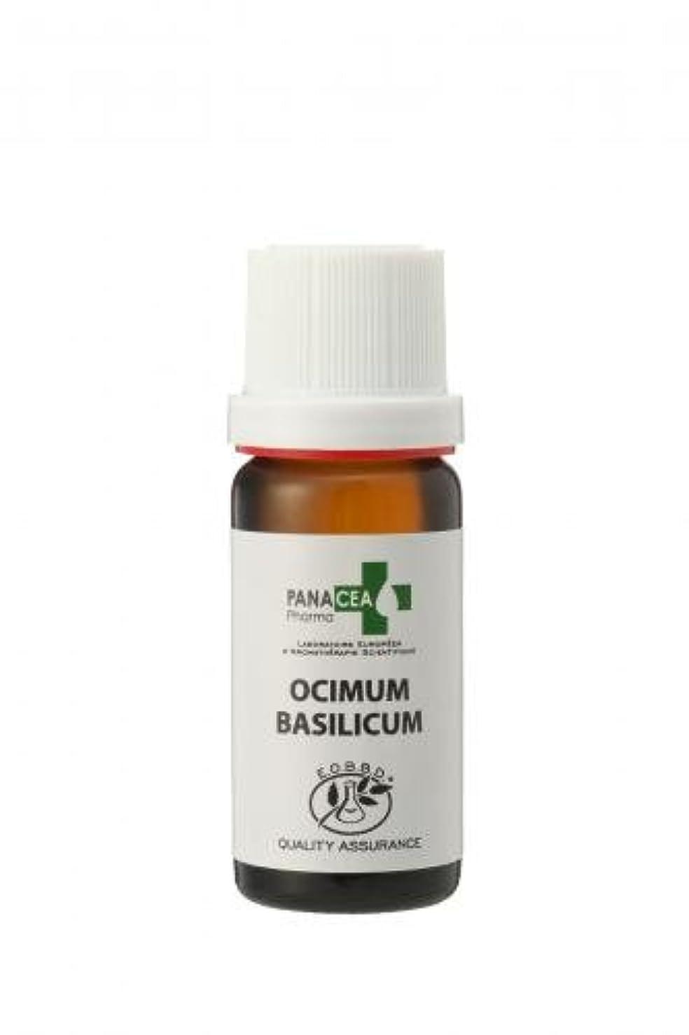 拒絶連合同意するバジル メチルカビコール (Ocimum basilicum) 10ml エッセンシャルオイル PANACEA PHARMA パナセア ファルマ