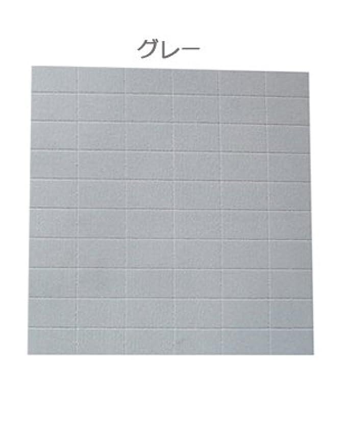 ネイル用ミニブロック60個/2wayスポンジファイル ☆150G/180G (グレー)