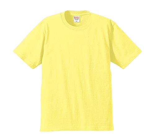 (ユナイテッドアスレ)UnitedAthle 6.2オンス プレミアム Tシャツ 594201 [メンズ] 487 ライトイエロー L