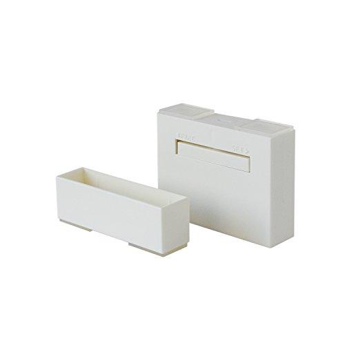 RoomClip商品情報 - 平安伸銅工業 LABRICO  DIY収納パーツ 1×4アジャスター オフホワイト DXO-21