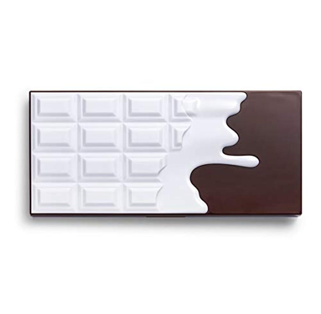 キュービック失うバイアスメイクアップレボリューション アイラブメイクアップ チョコレート型18色アイシャドウパレット #Smores Chocolate