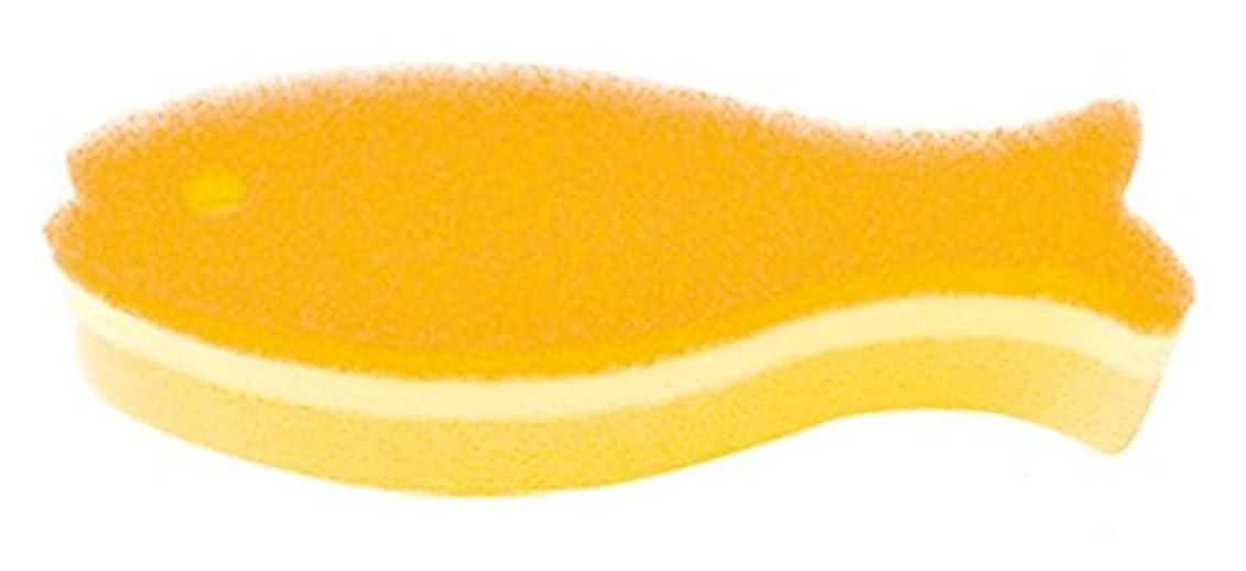 銅すり可決マーナ おさかなスポンジ ロング Y K479Y