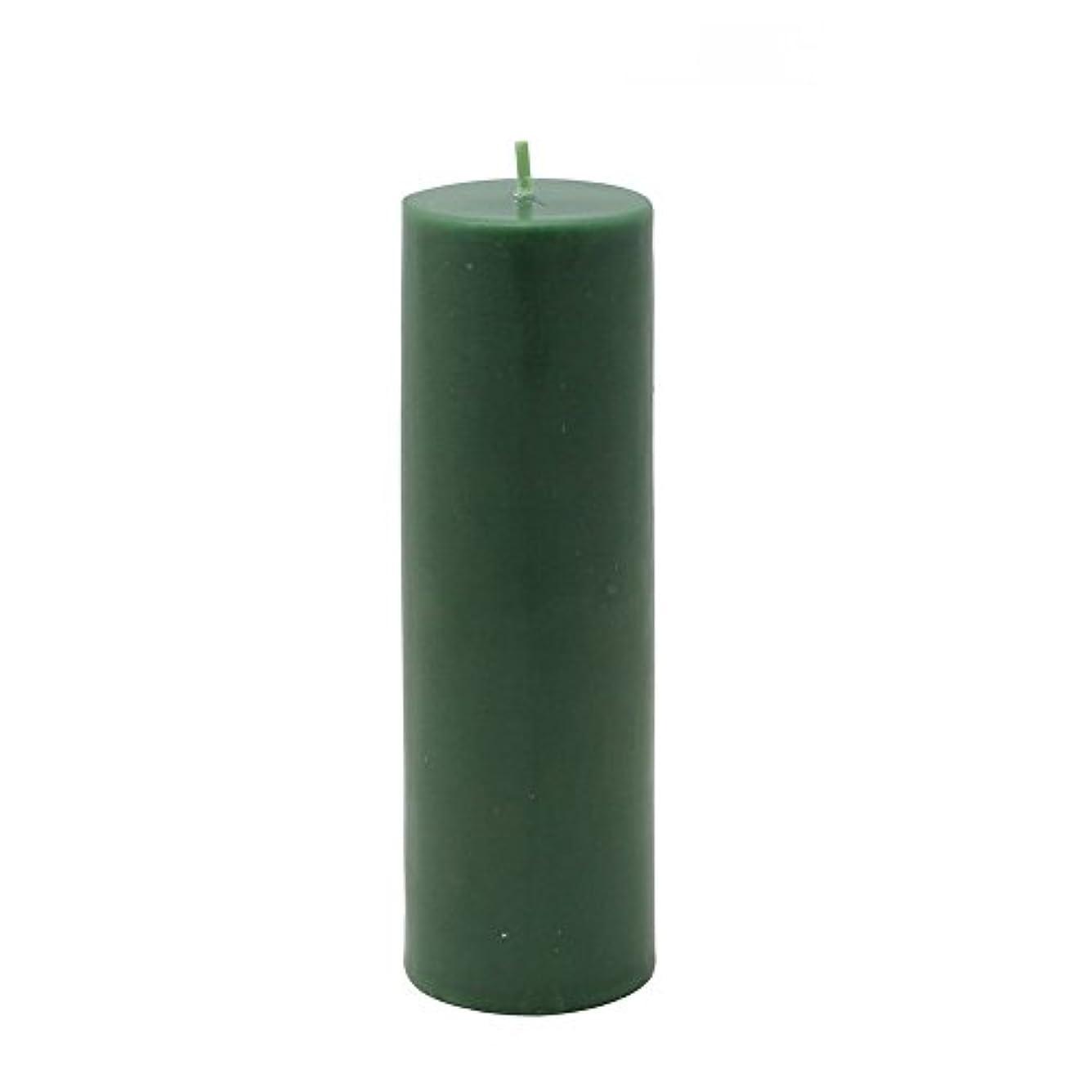 代表ラオス人月面Zest Candle Pillar Candle, 2 by 6-Inch, Hunter Green [並行輸入品]