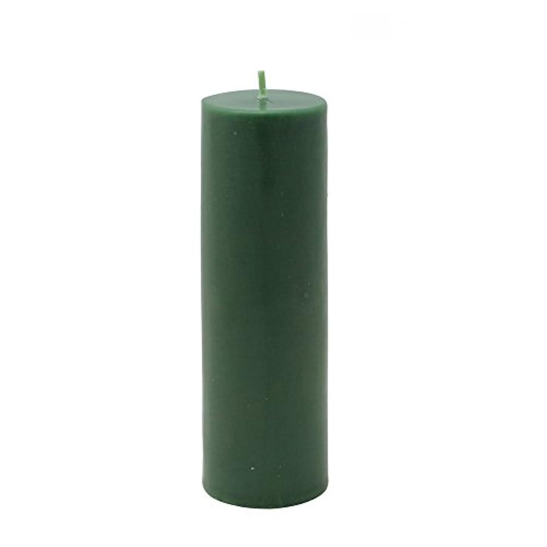 王族救いエンターテインメントZest Candle Pillar Candle, 2 by 6-Inch, Hunter Green [並行輸入品]