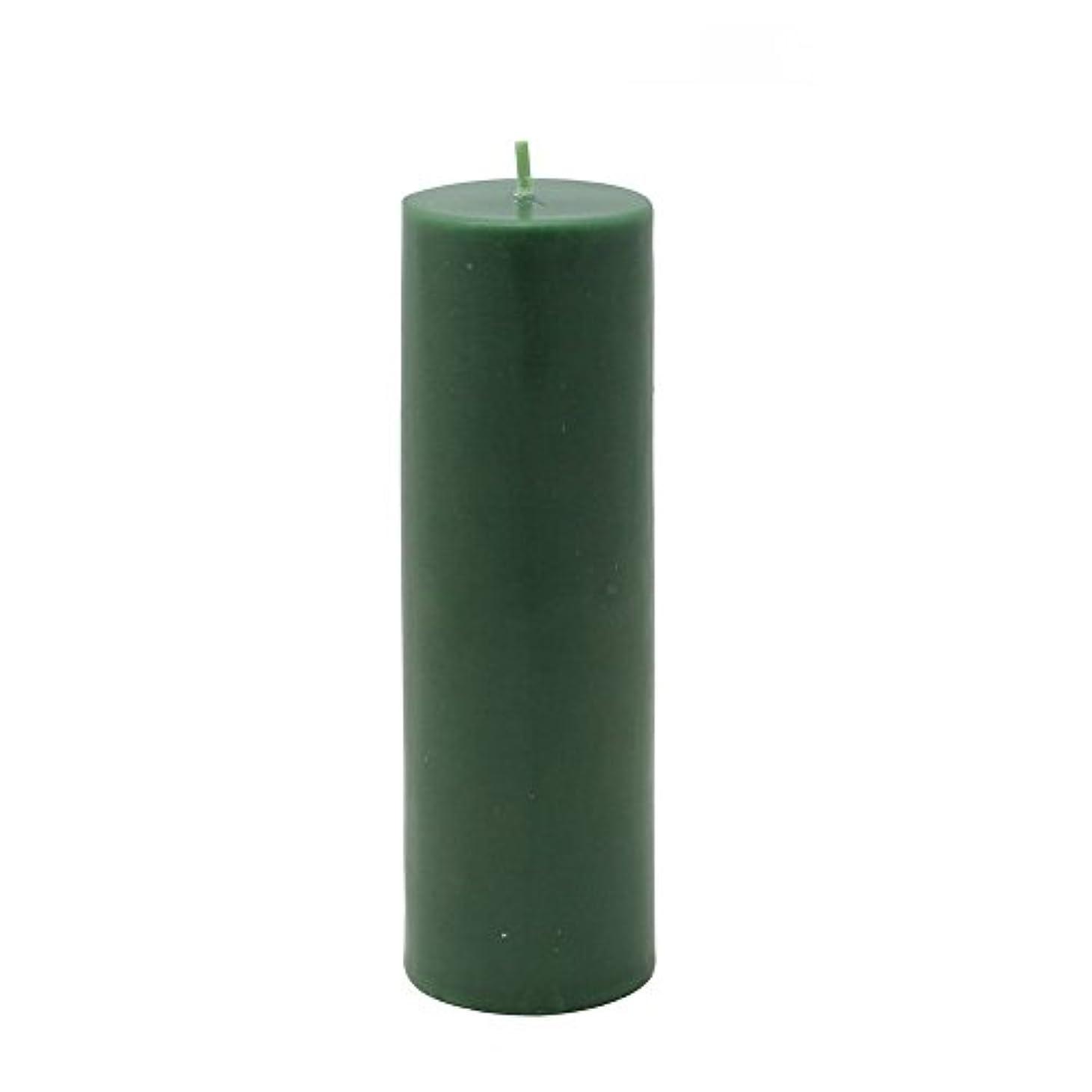 チーフ堤防ディレクトリZest Candle Pillar Candle, 2 by 6-Inch, Hunter Green [並行輸入品]