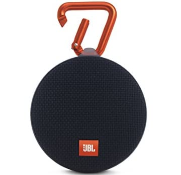 【国内正規品】JBL CLIP2 ポータブルワイヤレススピーカー IPX7防水機能 Bluetooth対応 パッシブラジエーター搭載 カラビナ付 ブラック JBLCLIP2BLK