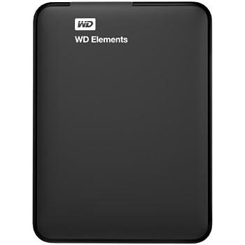 WD HDD ポータブルハードディスク 2TB WD Elements Portable WDBU6Y0020BBK-EESN USB3.0/3年保証